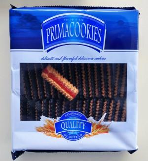 0606 PrimaCookies-1Kg Fursec cu marmeladă şi glazură de cacao (Ciasteczka Babuni zdobione dekorow)
