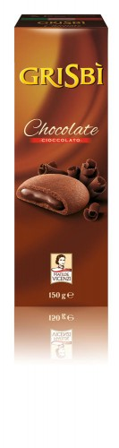 150g GRISBI Biscuiti umpluti cu crema de ciocolata GRISBI