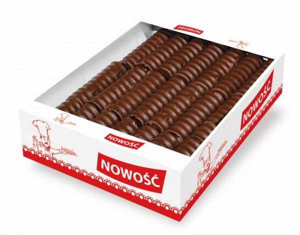 21775 – 1.4Kg Napolitane umpl. crema glaz. Cacao – Sekacz mazowiecki