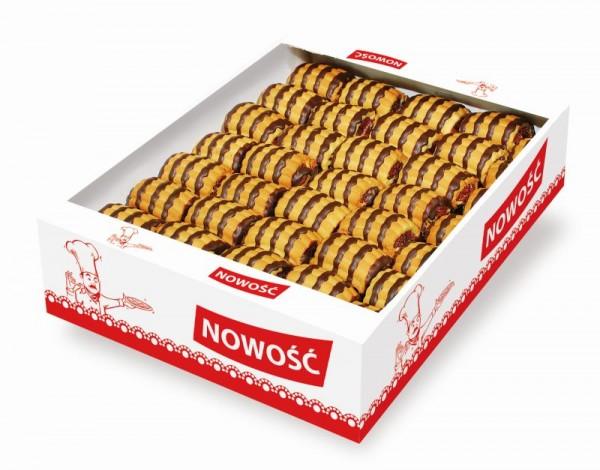 23045 – 1.5Kg Fursec umpl. fructe si glaz. cacao – Tajemniczy ogr. dek.
