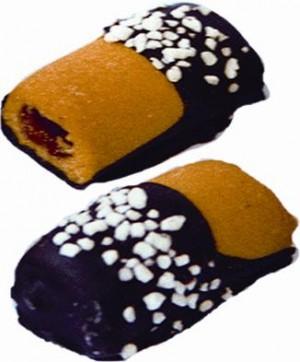 23519 - 1.5Kg Fursec umpl. fructe glaz. cacao+zahar granule - Muchomorek