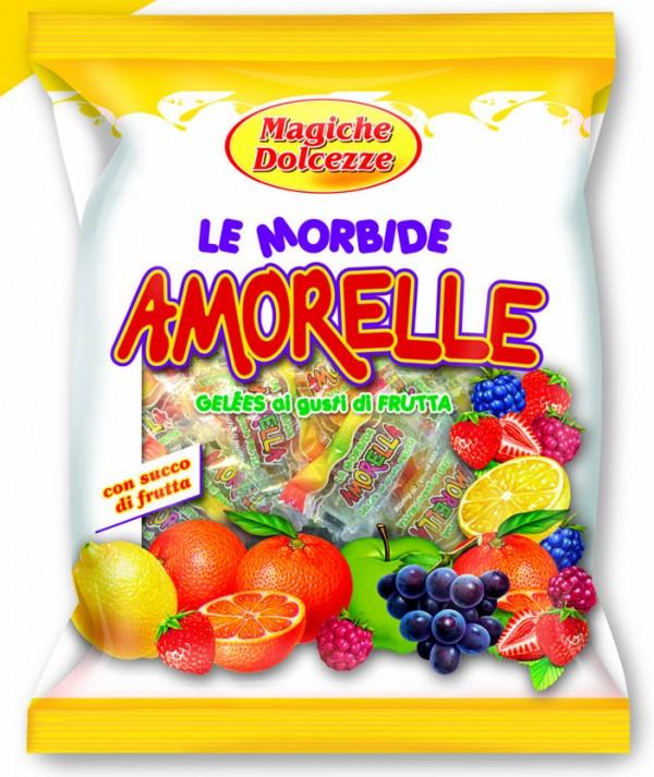 250g Jeleuri cu aroma de fructe AMORELLE