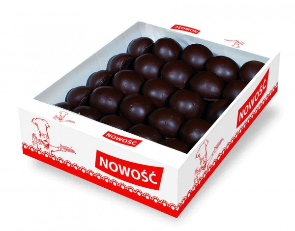 51427 – 1Kg Turta dulce umpl. caise si glaz. cacao – Piernik okragly
