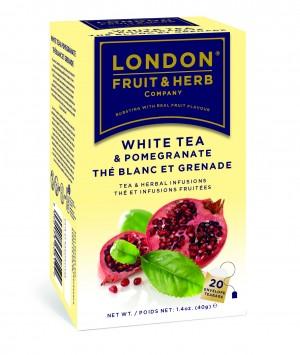 Ceai alb cu rodie
