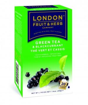Ceai verde cu coacaze negre