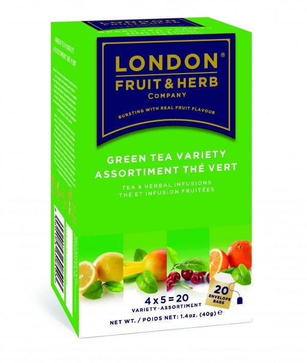 Ceai verde cu diverse arome