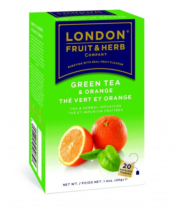 Ceai verde cu portocale