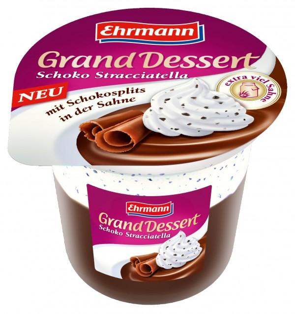 Grand Dessert Schoko Stracciatella 200g