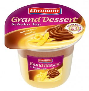 Grand Dessert vanilie si ciocolata