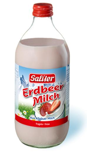 Saliter – Erdbeer Milch
