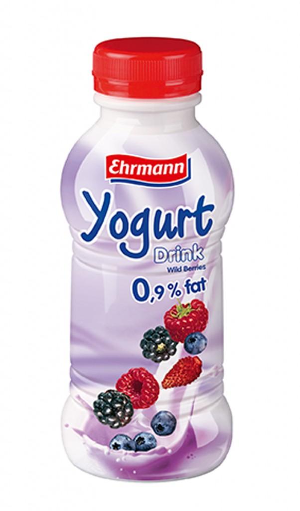 Yoghurt drink amestec fructe