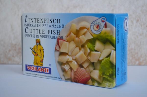 calamar in ulei vegetal
