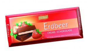 ciocolata cu capsuni 100g nou