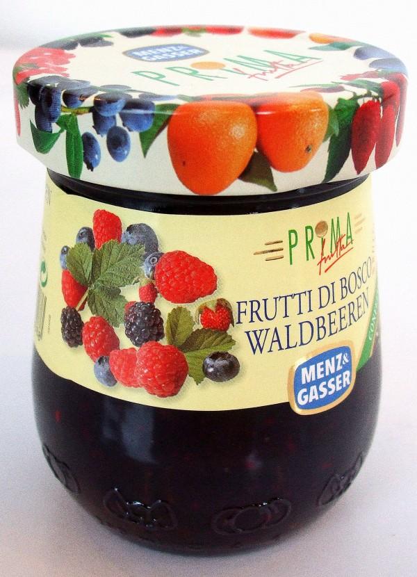 gem de fructe de padure 340g