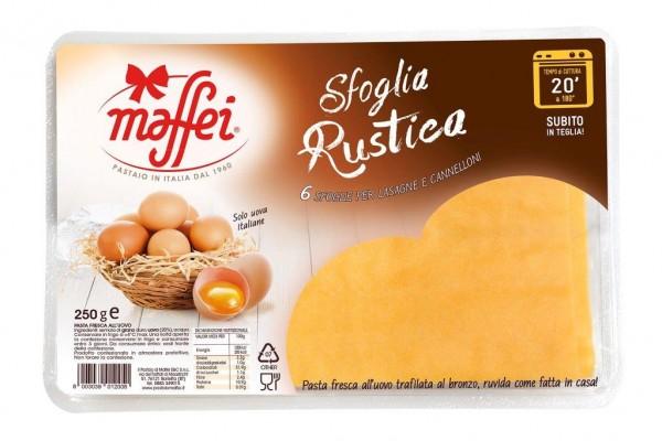 sfoglia rustica per lasagne 250g maffei